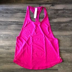 Fabletics Pink Racer Back Tank size Medium